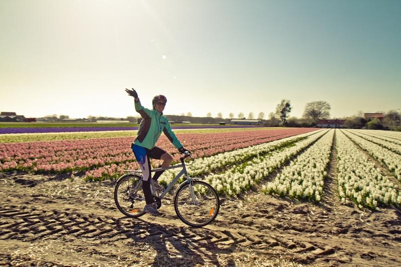 Один день из моего велосипедного вояжа в страну непуганых тюльпанов