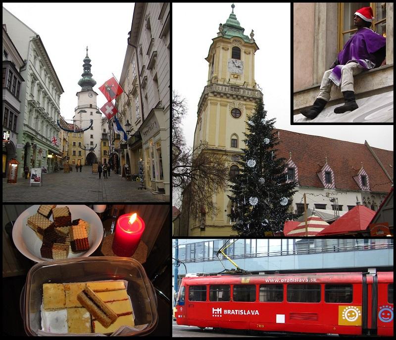 один мой день в Рождественской Братиславе, Словакия