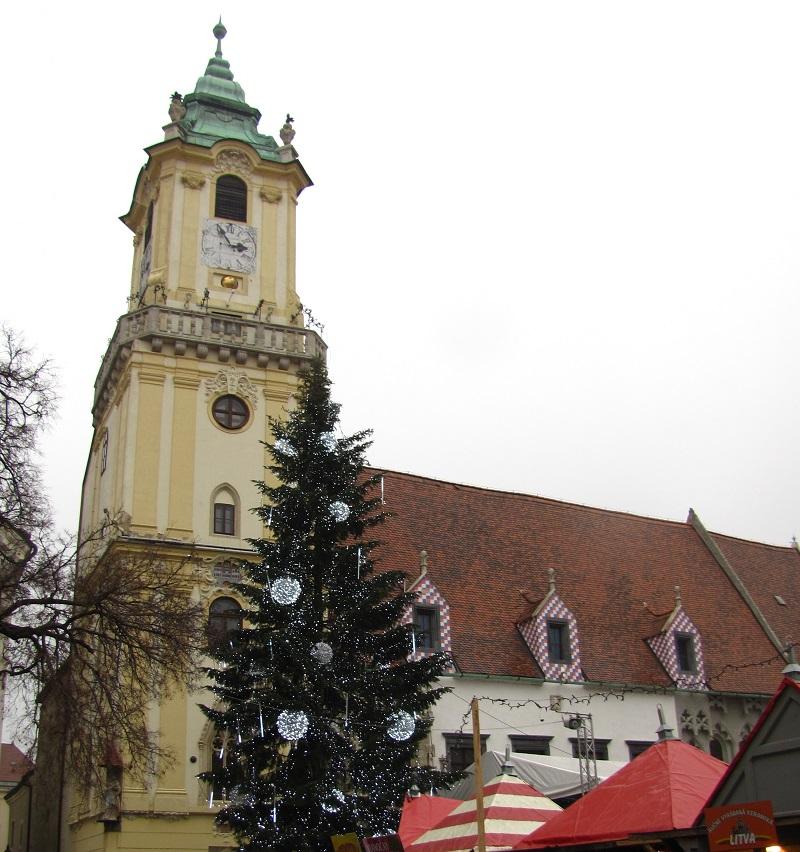 один мой день в Рождественской Братиславе, Словакия, фото 28