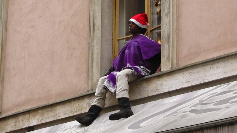 один мой день в Рождественской Братиславе, Словакия, фото 29