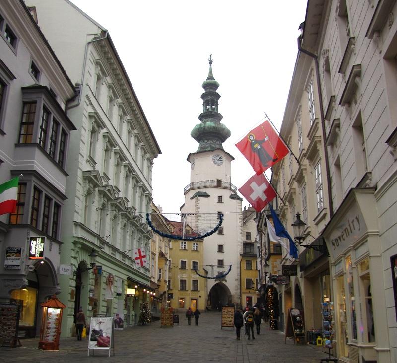 один мой день в Рождественской Братиславе, Словакия, фото 30