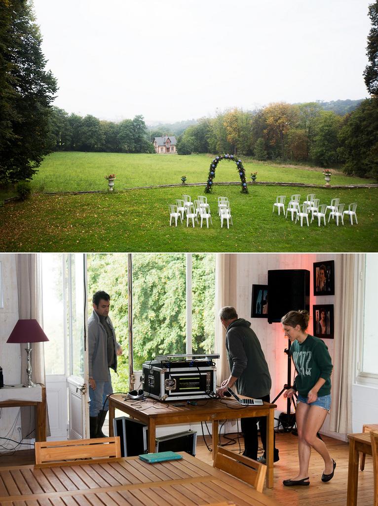один мой день на свадьбе в Нормандии, фото 5