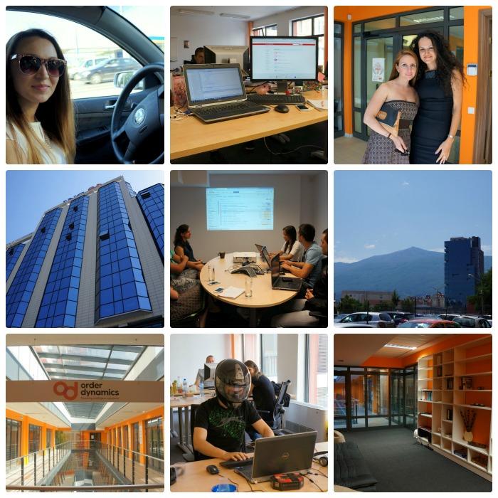 один рабочий день веб-разработчика в Софии, Болгария