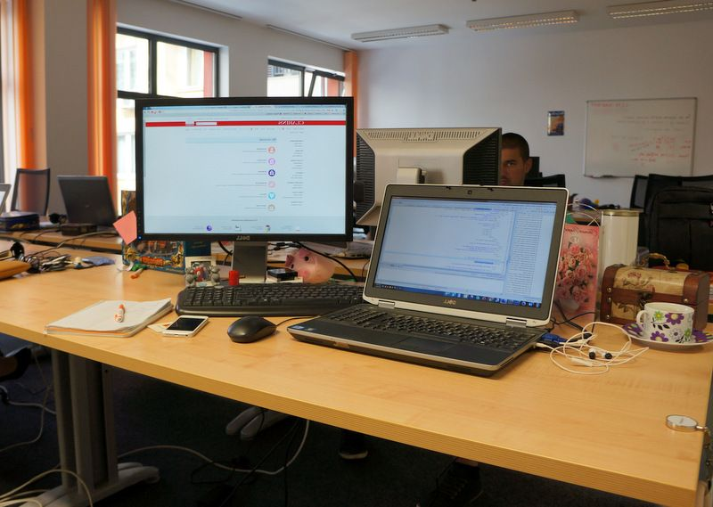один рабочий день веб-разработчика в Софии, Болгария, фото 11