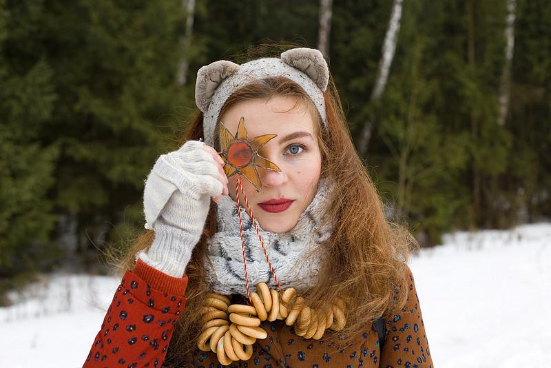 один мой день на проводах зимы, или Бакшевская масляница