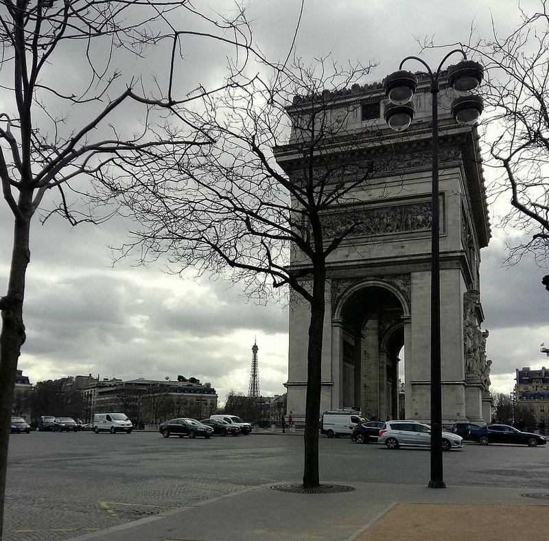 один мой день прожитый в городе Париж