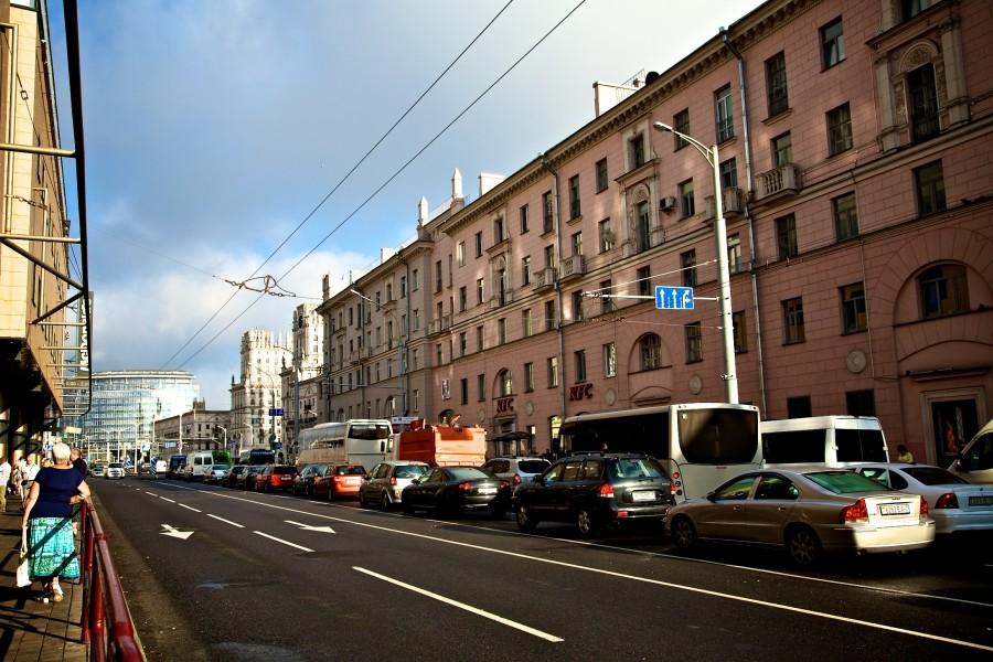 один день лягушки-путешественницы проведенный в городе Минск, фото 3