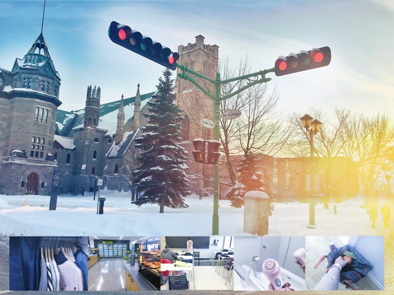 один мой будний день в Монреале