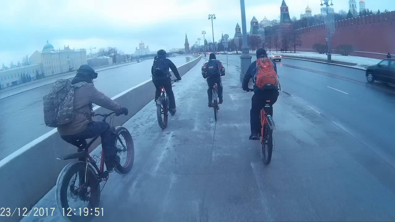один мой зимний велодень в городе Москва, фото 10