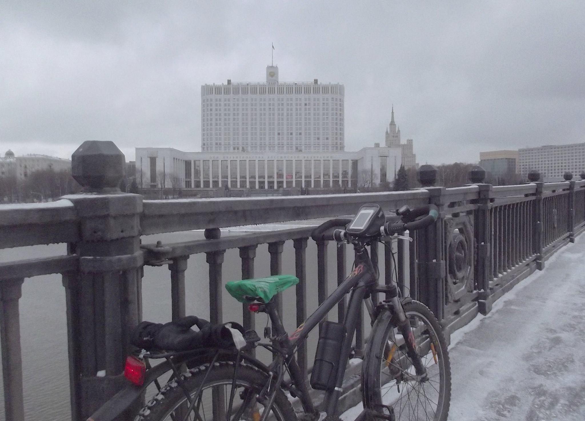 один мой зимний велодень в городе Москва, фото 14