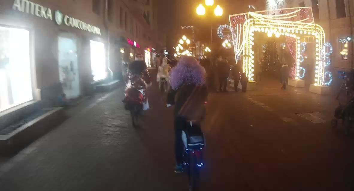 один мой зимний велодень в городе Москва, фото 27