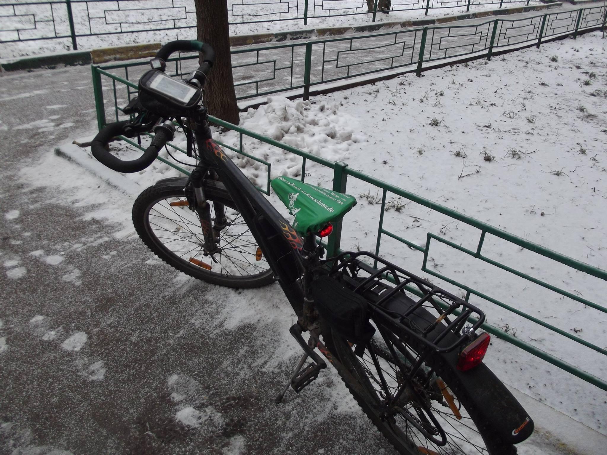 один мой зимний велодень в городе Москва, фото 4