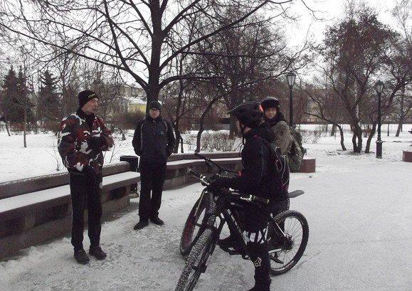один мой зимний велодень в городе Москва, фото 7