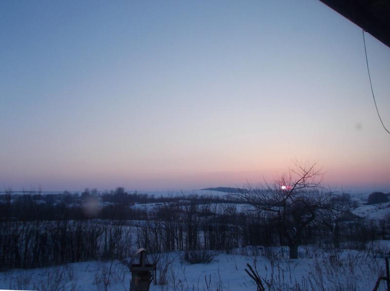 один мой морозный день в деревне Липецкой области, фото 32