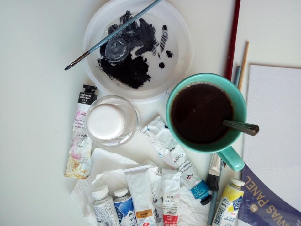 один будний день сценариста и художника, фото 35